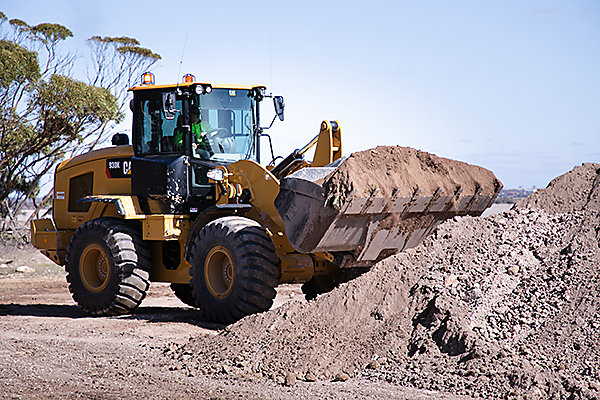 Machinery Operations Frontend Loader