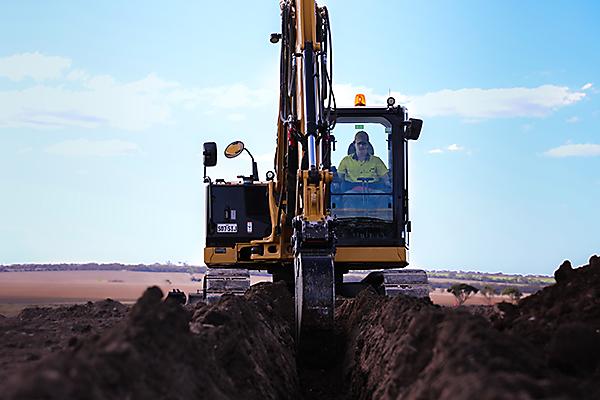 Machinery Operations Excavator